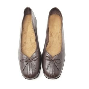 Aerosoles Wedge Brown Comfort Shoes Size 10